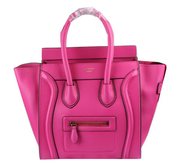 Celine Luggage Micro Boston Bag Original Leather CT33081 Rose