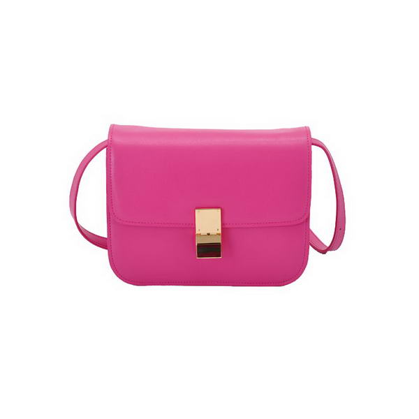 Celine Classic Box Large Flap Bag Rosy