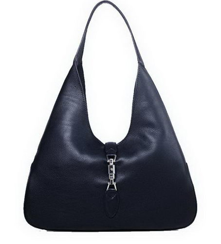 Gucci Jackie Soft Leather Hobo Bags 362968 Black