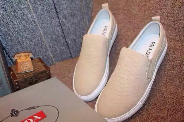 Prada Casual Shoes PD421 Apricot