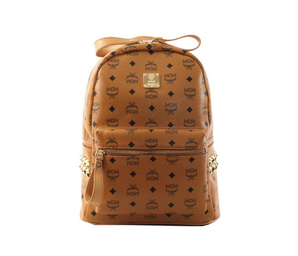MCM Stark Backpack Grainy Leather 40123 Camel