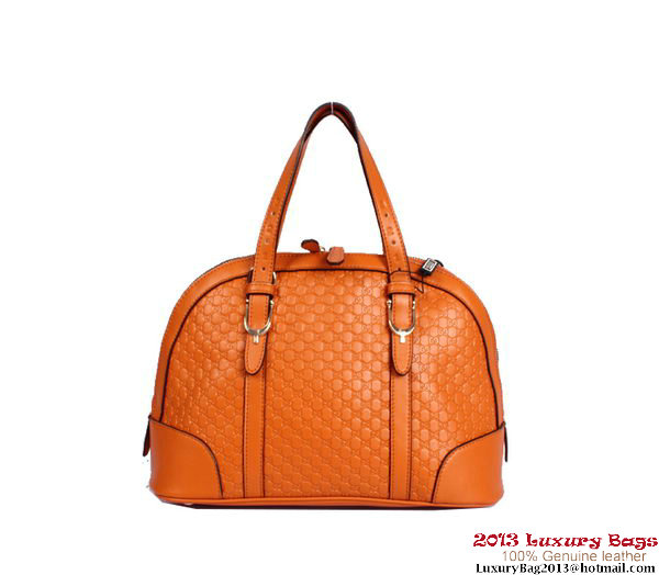 Gucci Nice Small Top Handle Bag 309617 Orange