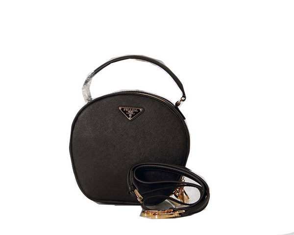 Prada Original Saffiano Leather Bucket Bag BN1219 Black