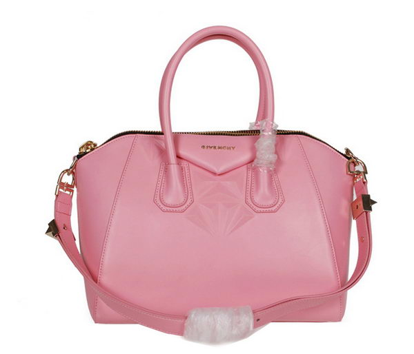 Givenchy Small Diamond Antigona Bag Nappa Leather 9981S Pink