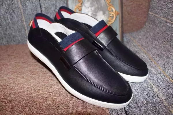 Gucci Casual Shoes Suede Leather GG0525 Black
