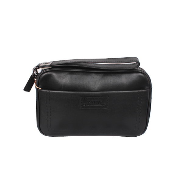 Burberry Smooth Leather Mens Clutch BL20001 Black