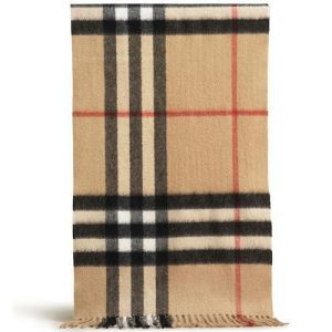 Burberry Cashmere Classic Giant Check Scarf