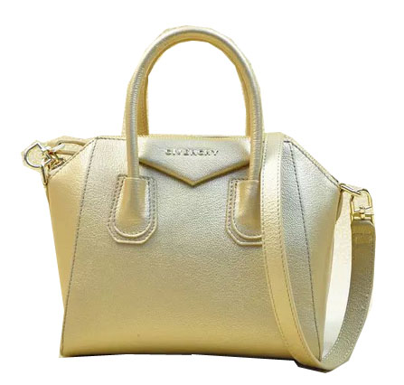 Givenchy mini Antigona Bag Original Leather G9981S Gold