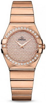 Omega Constellation Luxury Edition Quarz Small Watch 158636A