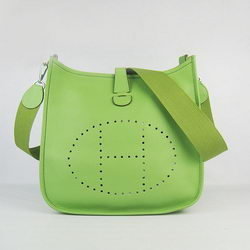 Hermes Evelyne Messenger Bag 6309 Green
