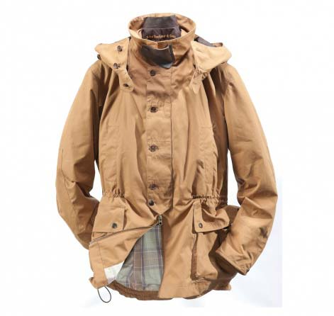 Barbour Shoreman Jacket Cinnamon