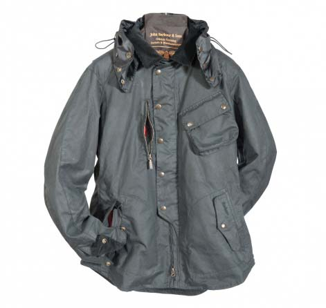 Barbour Motor Bike Shirt Black