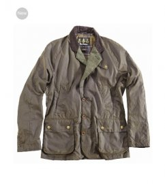 Mens Barbour Truefit Waxed Jacket