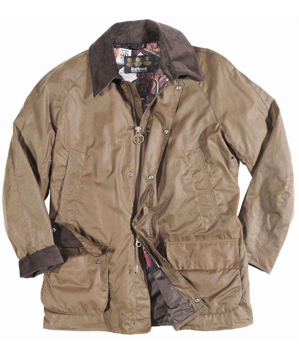 Mens Barbour Pendennis Waxed Jacket Brown