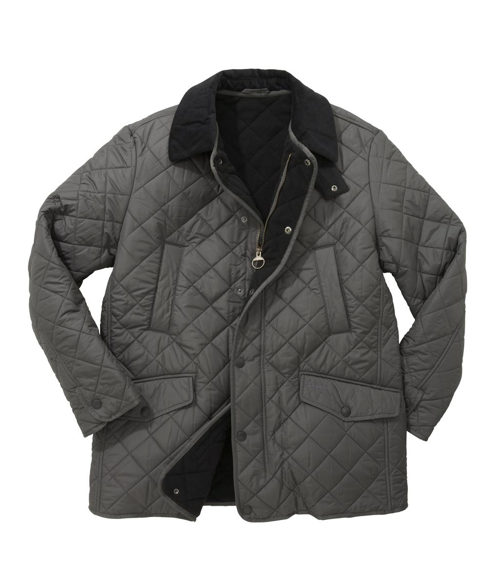 Barbour Bardon Quilt Jacket - Charcoal