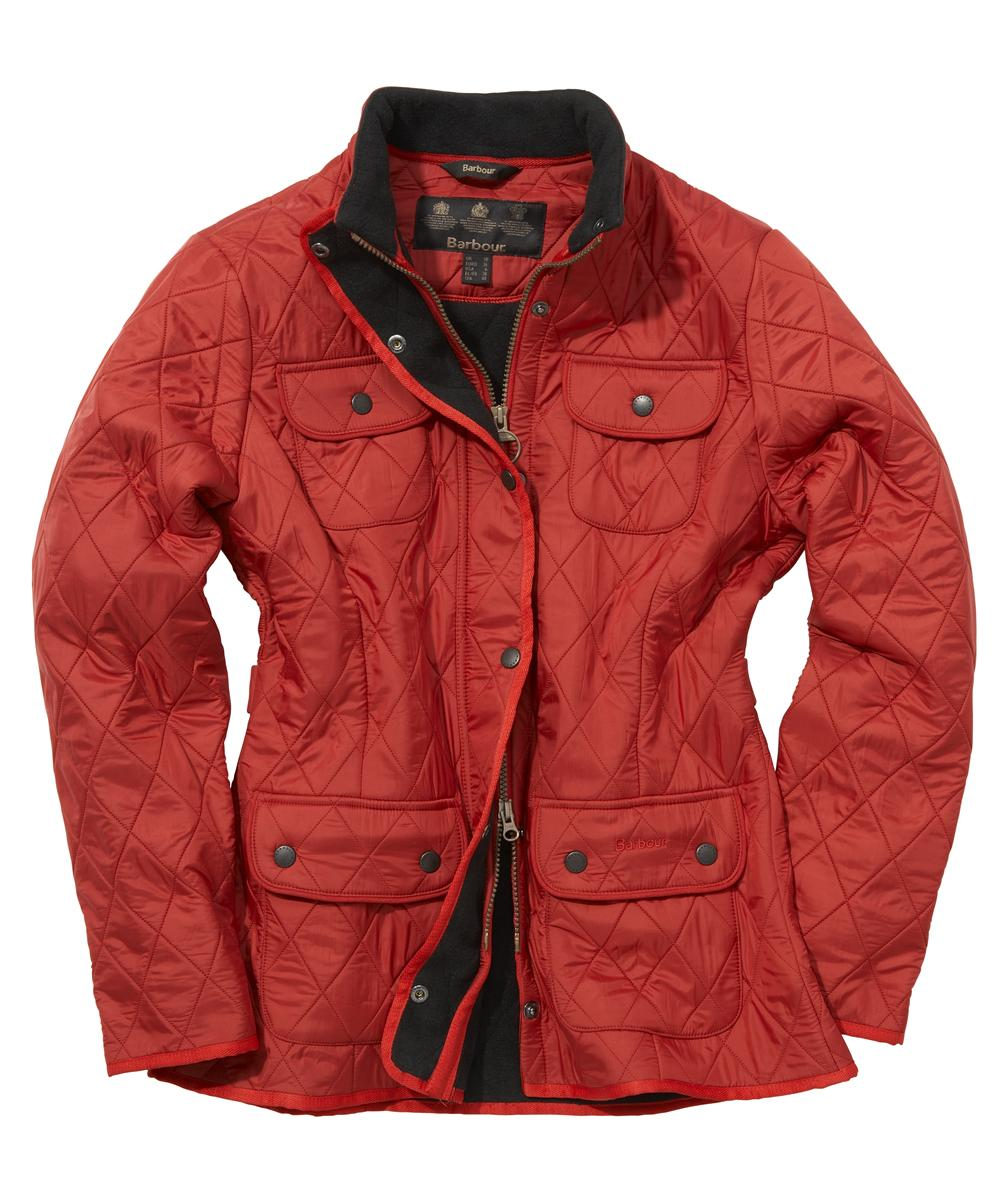 Barbour Ladies Utility Polarquilt- Red