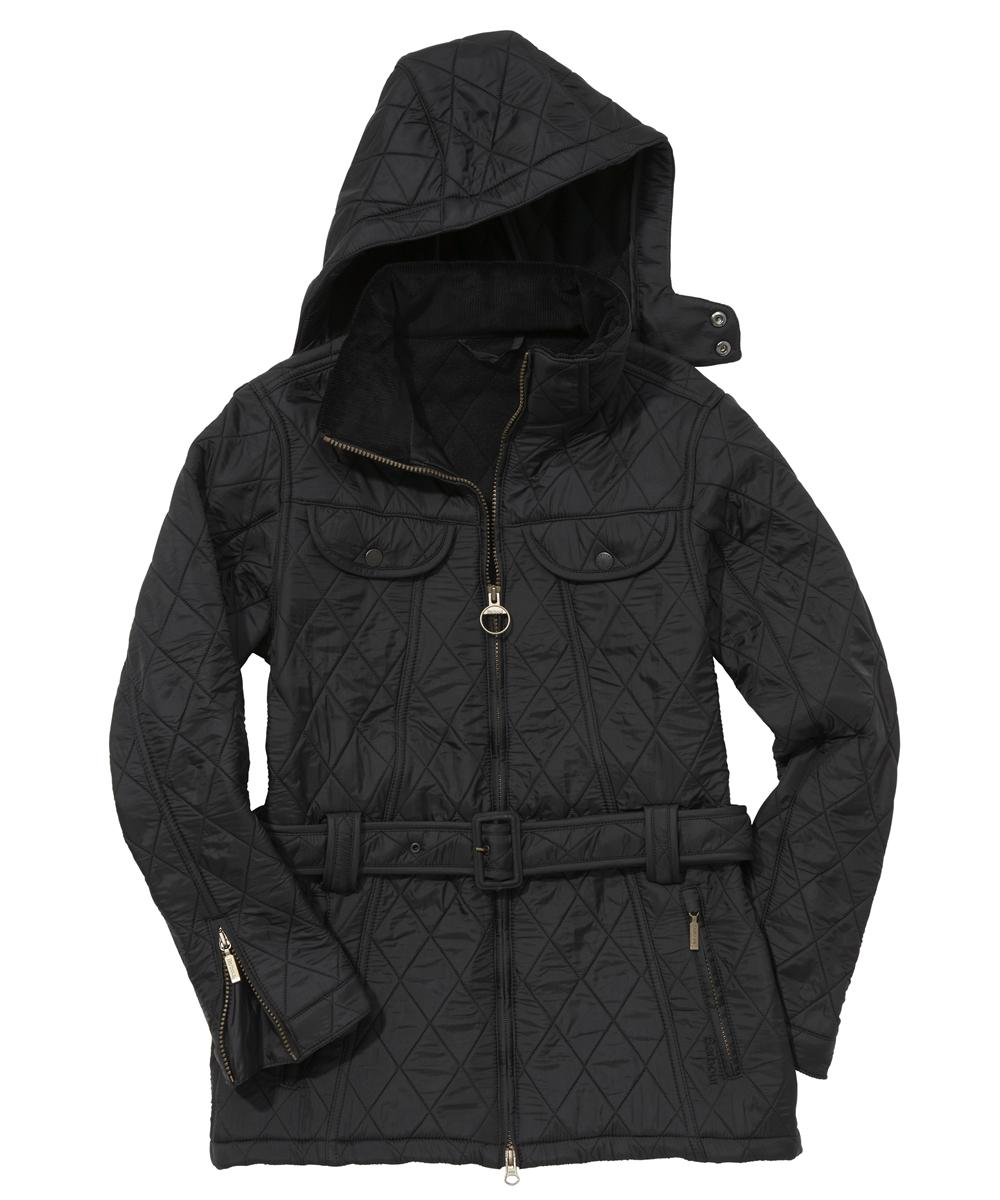 Barbour Ladies Grace Polarquilt Jacket Black
