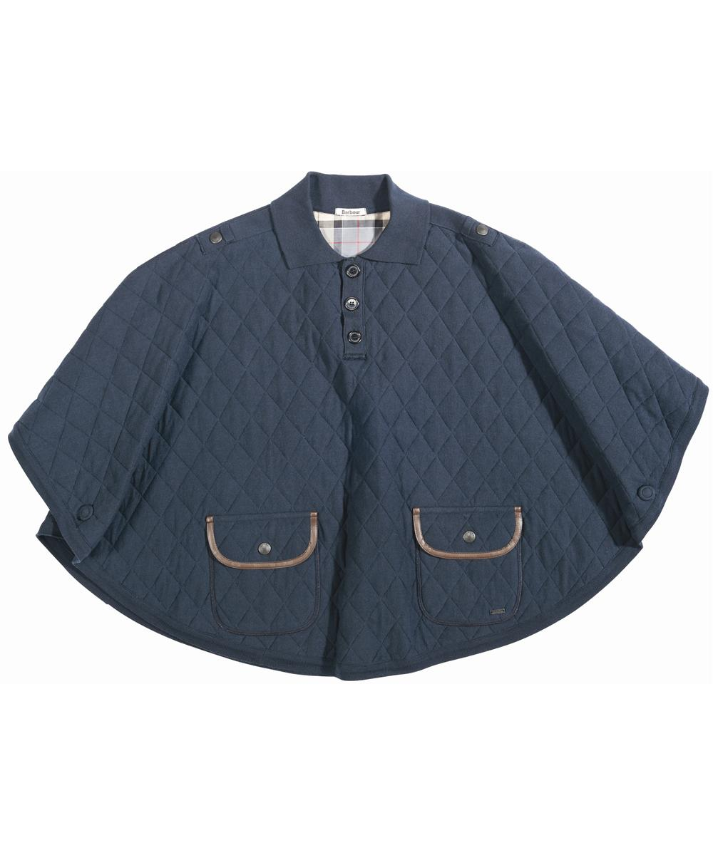 Barbour Equestrian Poncho Navy