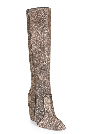 BCBGMAXAZRIA RACHEL TALL WEDGE BOOT