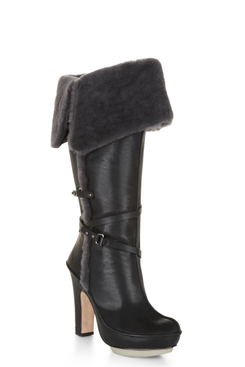 BCBGMAXAZRIA MOLLY SHEARLING BOOT