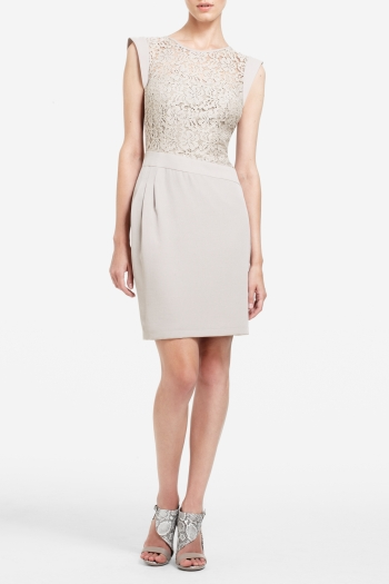 BCBGMAXAZRIA AIMEE LACE COCKTAIL DRESS