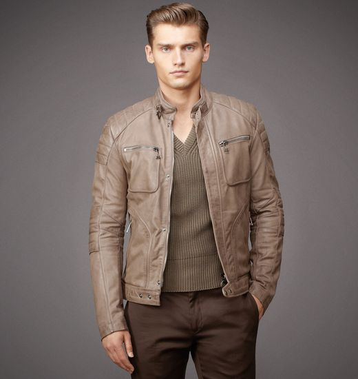 BELSTAFF MEN WEYBRIDGE JACKET Taupe