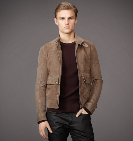 BELSTAFF MEN LETWELL JACKET Walnut