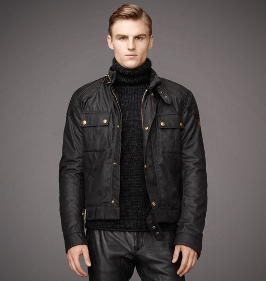 BELSTAFF MEN BROOKLANDS BLOUSON Black