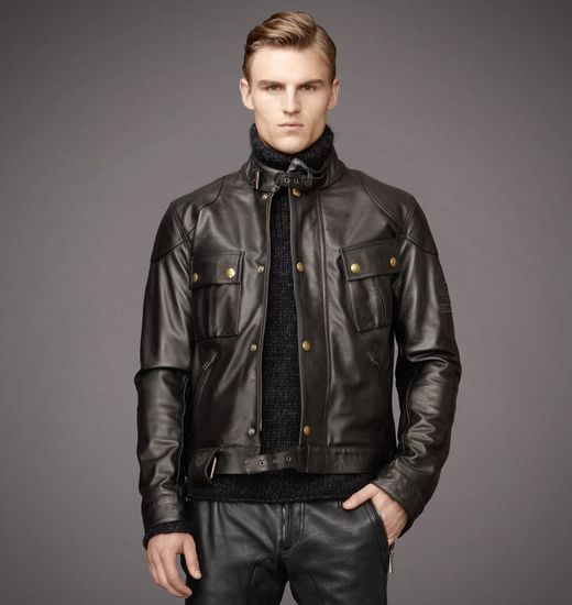 BELSTAFF MEN OLIVERS MOUNT BLOUSON Black