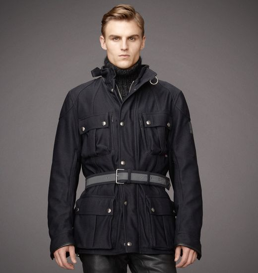 BELSTAFF MEN SNAEFELL JACKET Black