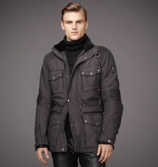 BELSTAFF MEN BALLACRAINE JACKET Black