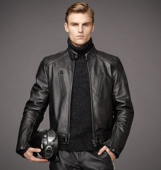 BELSTAFF MEN LAVANT BLOUSON Black