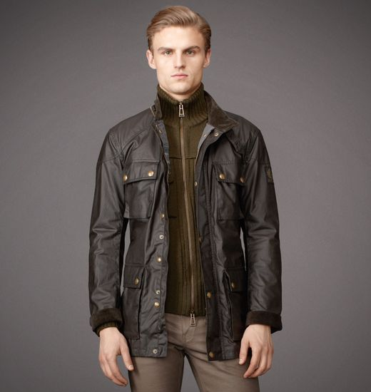 BELSTAFF MEN THE ROADMASTER JACKET Military