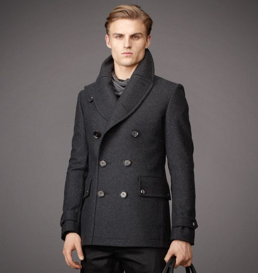 BELSTAFF MEN BRENTWOOD COAT Dark Grey Melange