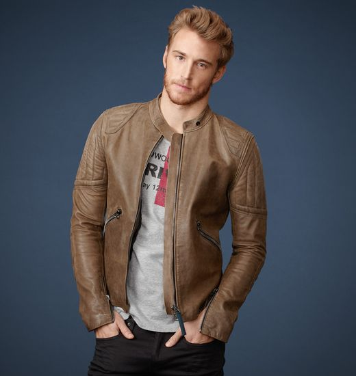 BELSTAFF MEN PEERLESS JACKET Golden Khaki