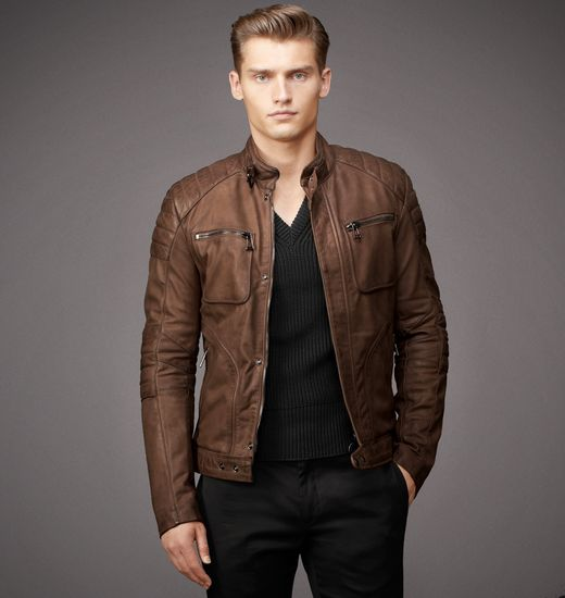 BELSTAFF MEN WEYBRIDGE JACKET Walnut