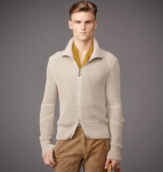 BELSTAFF MEN HAYES MOTO CARDIGAN Light Trench