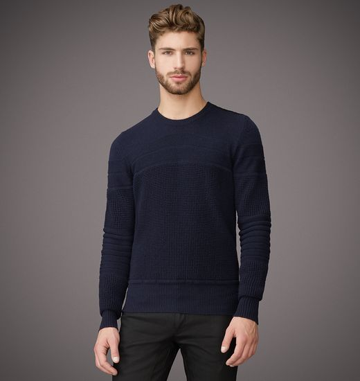BELSTAFF MEN ENMORE SWEATER Dark Navy
