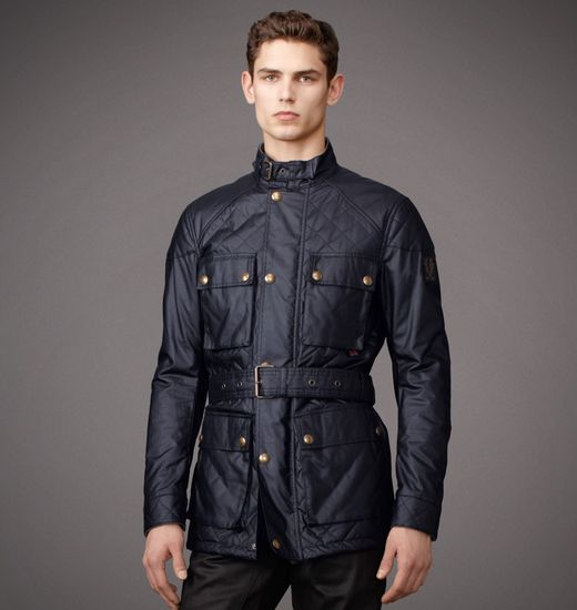 BELSTAFF MEN REDFORD JACKET Navy