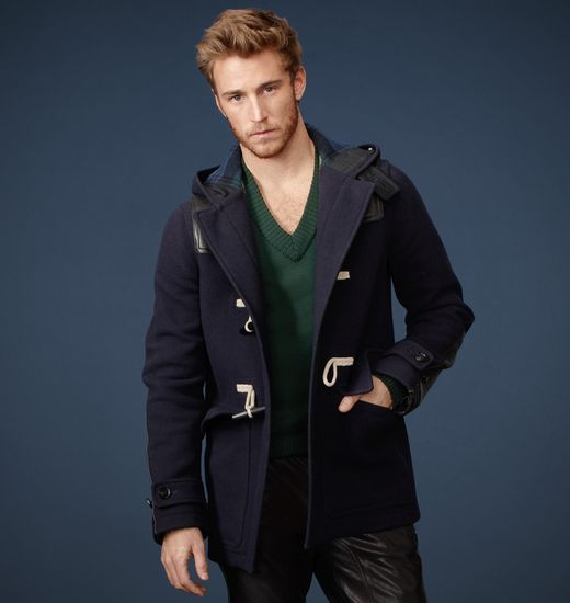 BELSTAFF MEN WOOLSTON WOOL COAT Dark Navy