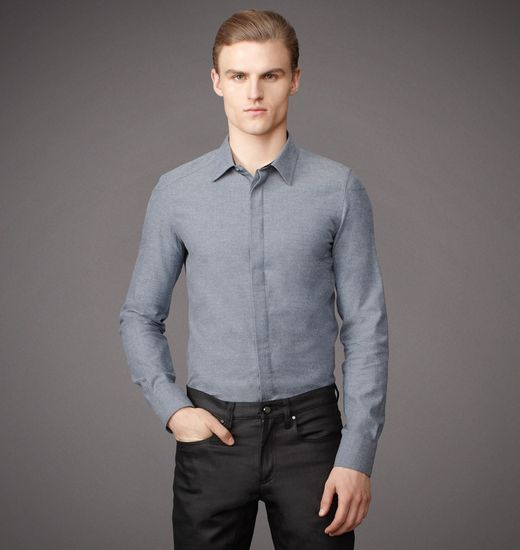 BELSTAFF MEN RHODES SHIRT Airforce Blue