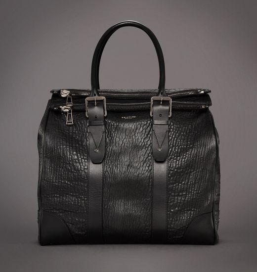 BELSTAFF MEN DORCHESTER 46 BAG Black