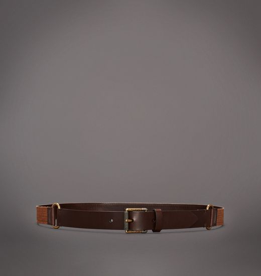 BELSTAFF MEN SPARHAM BELT Dark Terracotta