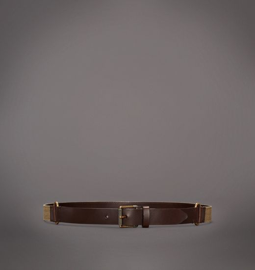 BELSTAFF MEN SPARHAM BELT Light Olive