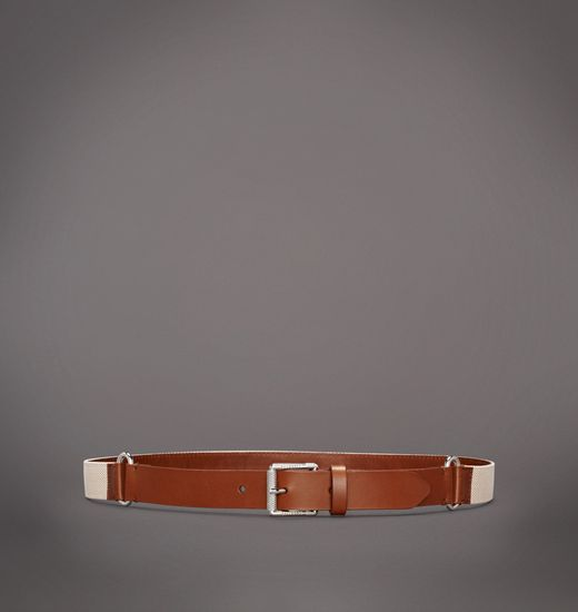 BELSTAFF MEN SPARHAM BELT Dark Goldenrod