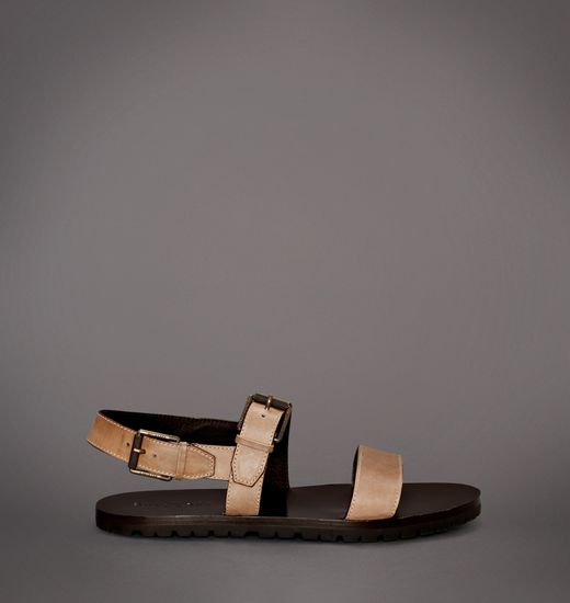 BELSTAFF MEN CHADWELL FLAT SANDAL Dusty Pewter