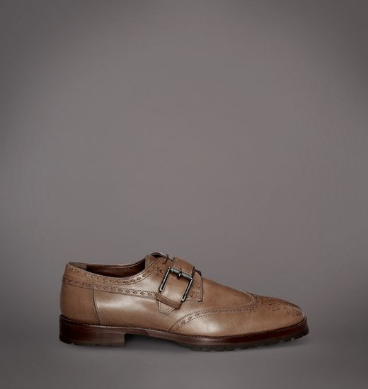 BELSTAFF MEN RUSHMORE BROGUE Matte Brown