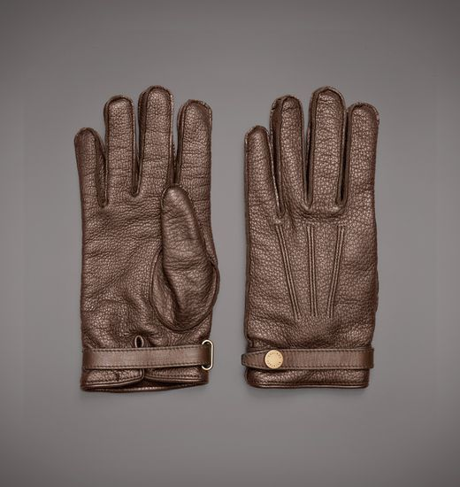 BELSTAFF MEN BRISTOL GLOVE Antique Bronze