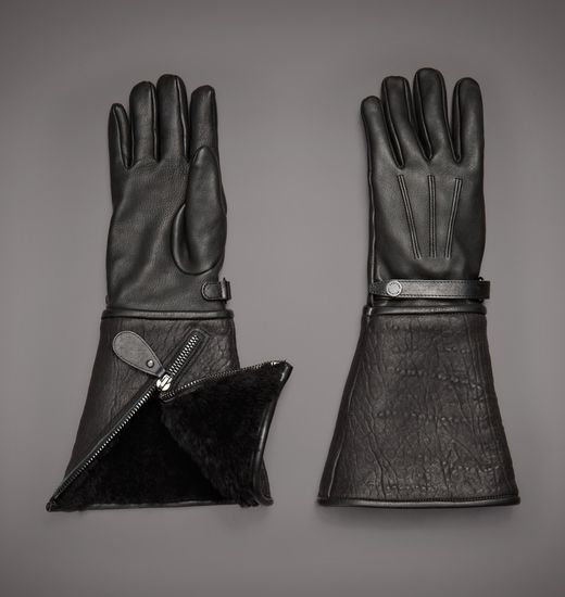 BELSTAFF MEN BEAUMONT GLOVE Black