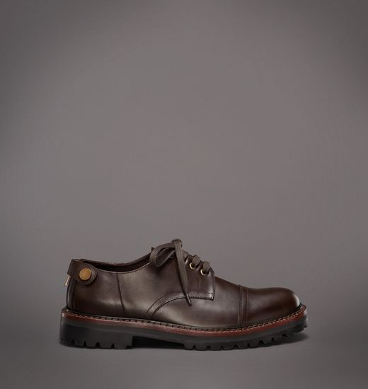 BELSTAFF MEN BERKELEY SHOE Matte Brown